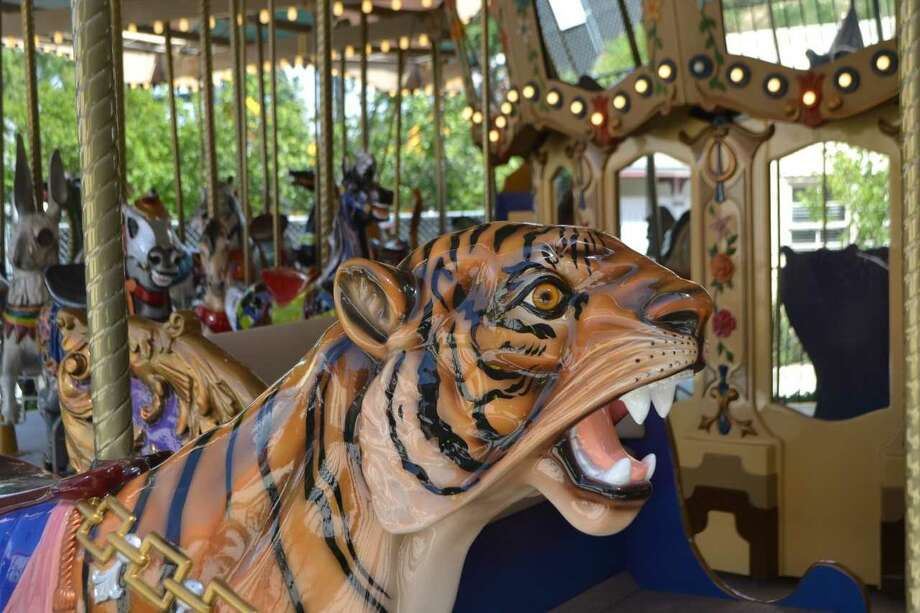 Six Flags Fiesta Texas is reopening its Grand Carousel after refurbishing it and moving it back to its original location in the German section of the park. Photo: Six Flags Fiesta Texas