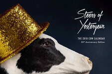 The 2018 Cow Calendar, the 20th anniversary edition. The chain announced Thursday it was ending the calendar.