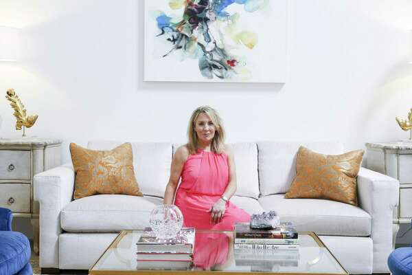 What Could Four Houston Design Teams Do With A Gray Sofa And Cool Art A Lot Houstonchronicle Com