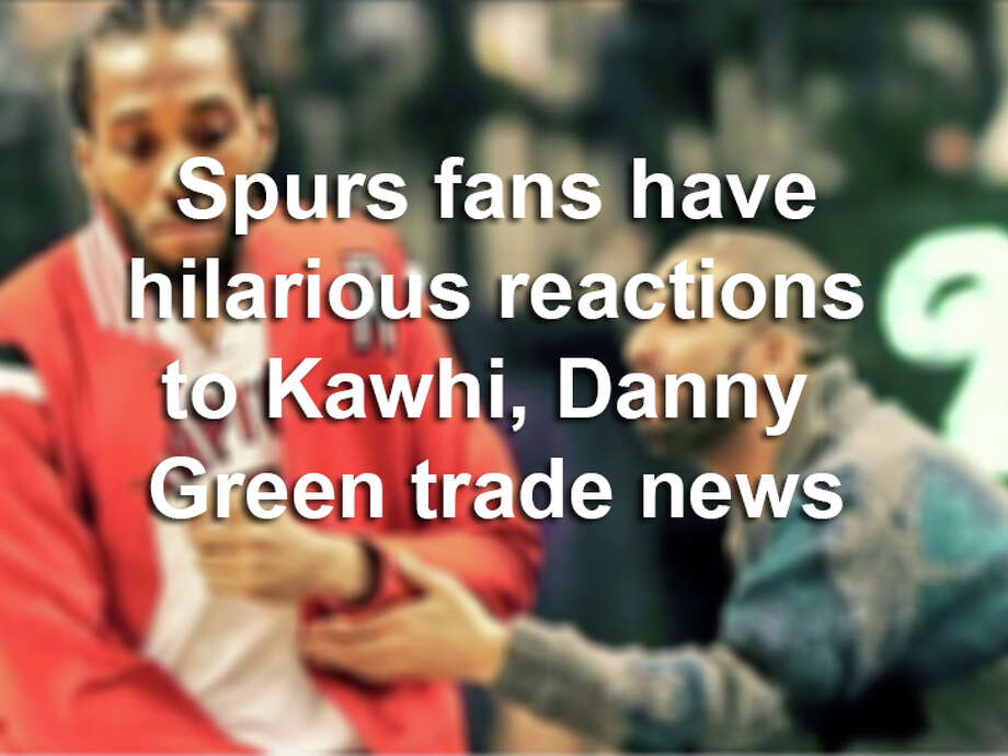 Twitter comedians struck early following news of Kawhi Leonard trade from Spurs to Toronto. Click ahead to see the best reactions from the blockbuster trade deal. Photo: Twitter Screengrab