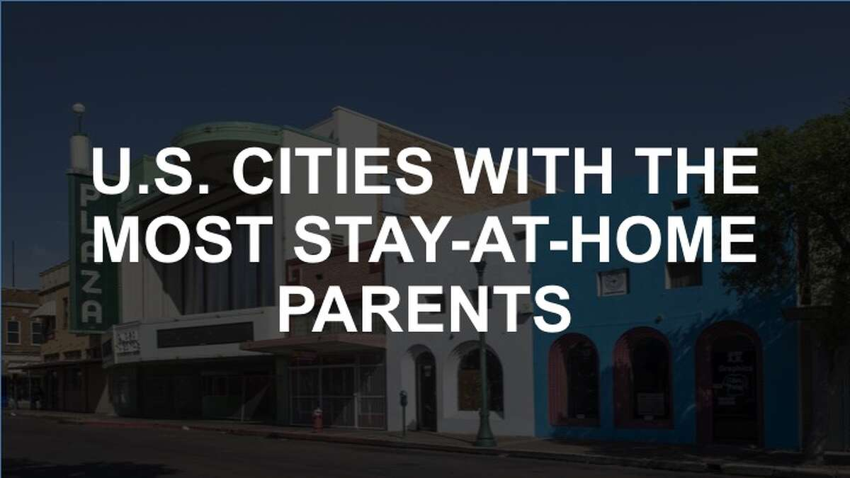 Stay-at-home parents are becoming more common across the country. Click through to see which cities have the highest share.