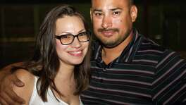 Erika and Eric Flores are at Jack Rabbit.