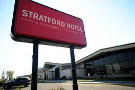 The Stratford Hotel and Conference Center at 225 Lordship Boulevard in Stratford, Conn. on Tuesday, October 18, 2016. Their are plans to convert the property into apartments.