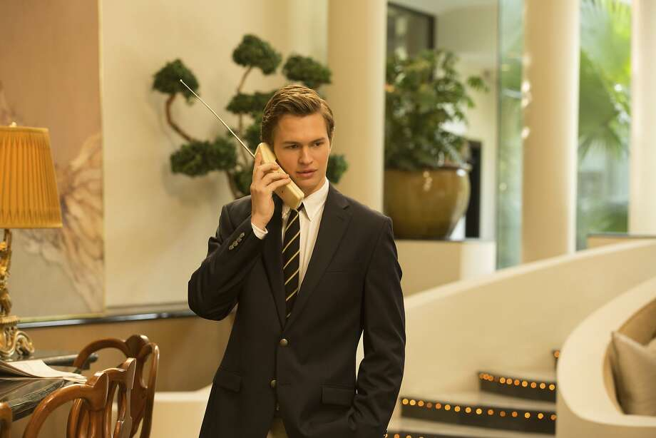 "Ansel Elgort in ""Billionaire Boys Club."" Photo: Vertical Entertainment"