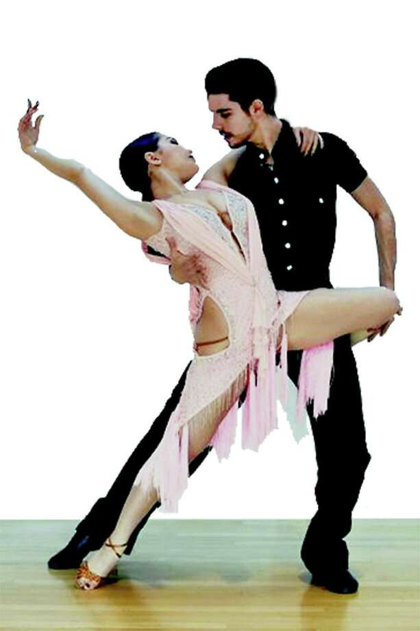 FROM ITALY, WITH DANCE: Latin dance stars from Italy Giovanni D'Arpino and Francesca Vari will do their first show in the United States at the Premier Ballroom Co.'s monthly general dance and show at the Holy Trinity Greek Church in Bridgeport on July 28. Showtime is 9:30 p.m. with general dancing from 7-11:30 p.m. and complimentary lesson at 8. Music provided by MB Music. Singles and couples welcome. Admission is $20. Photo: Courtesy Of Bob Beslove