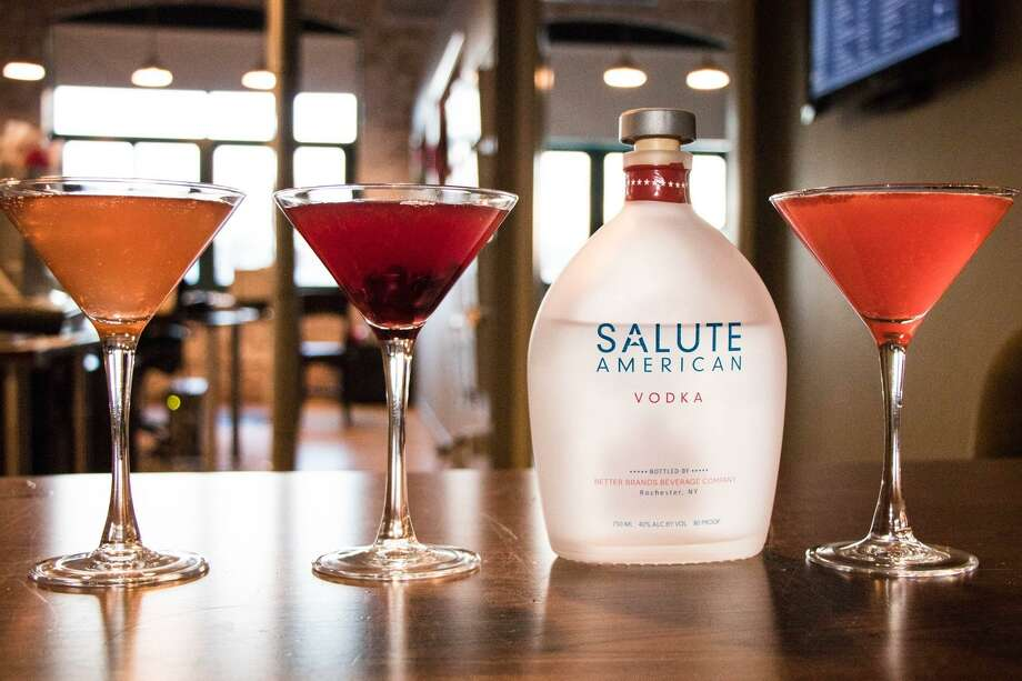 Salute American Vodka contributes $1 to veterans from each bottle sold. Photo: Courtesy Of Salute Vodka