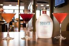 Salute American Vodka contributes $1 to veterans from each bottle sold.