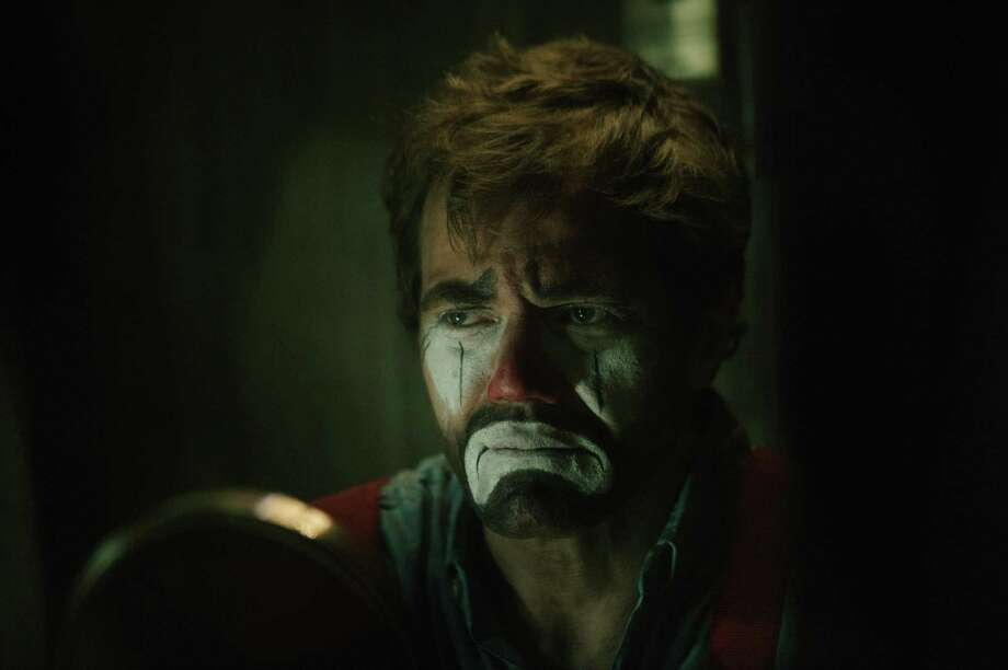 "Michael Shannon is a rodeo clown whose sons are at loose ends in ""Poor Boy."" Photo: Indiecan Pictures"