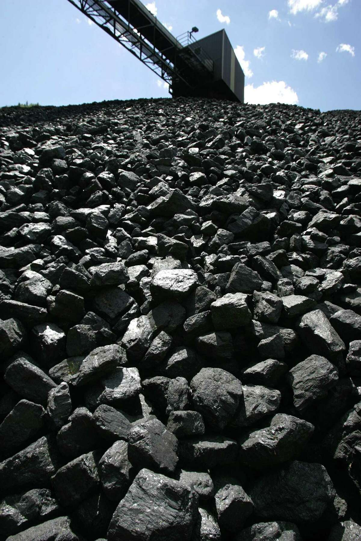 Stockpiles of coal are at their lowest point in four years.