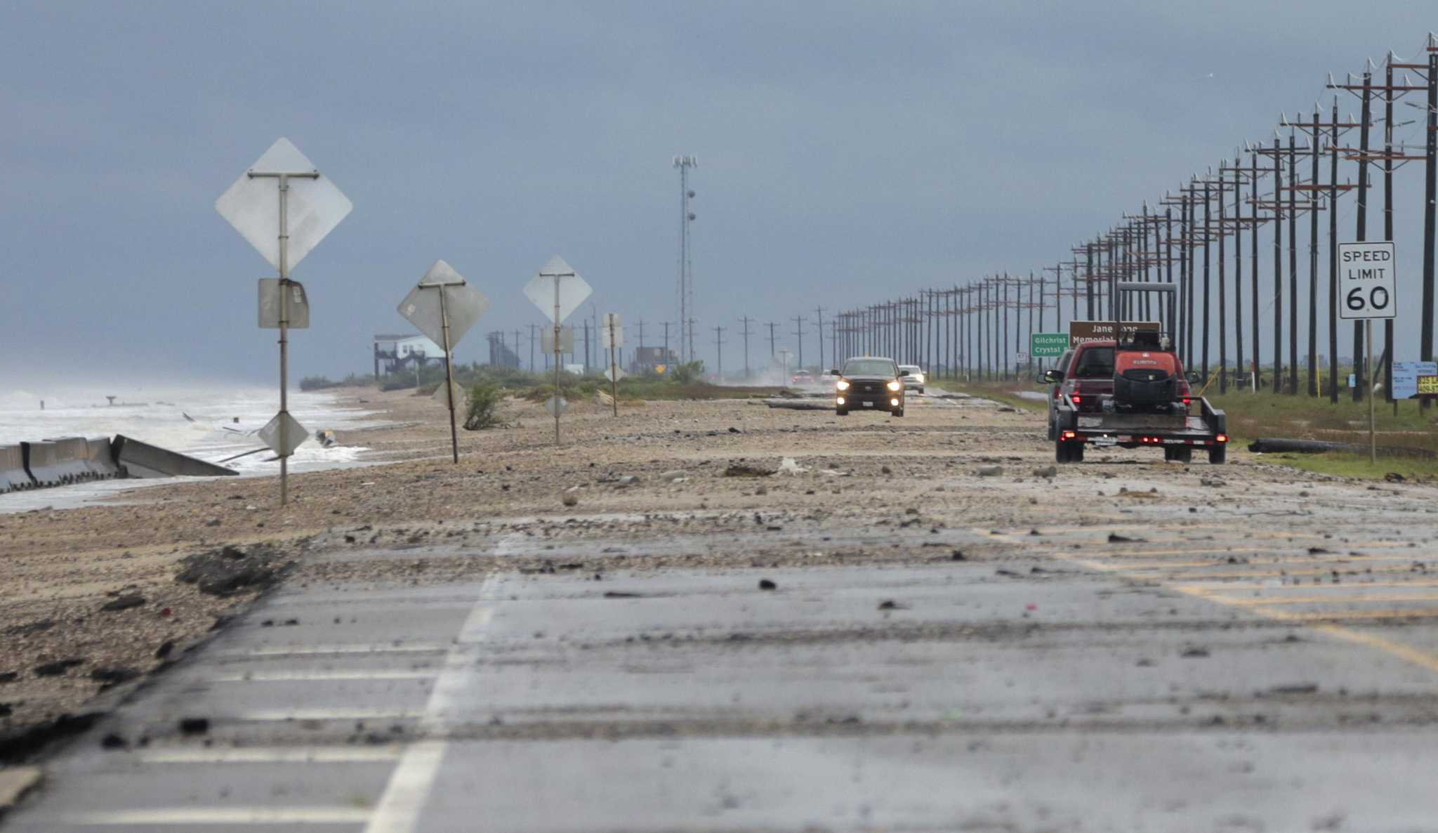 Tropical Storm Cindy pushes ashore in southern Louisiana, largely spares Houston area - Houston Chronicle