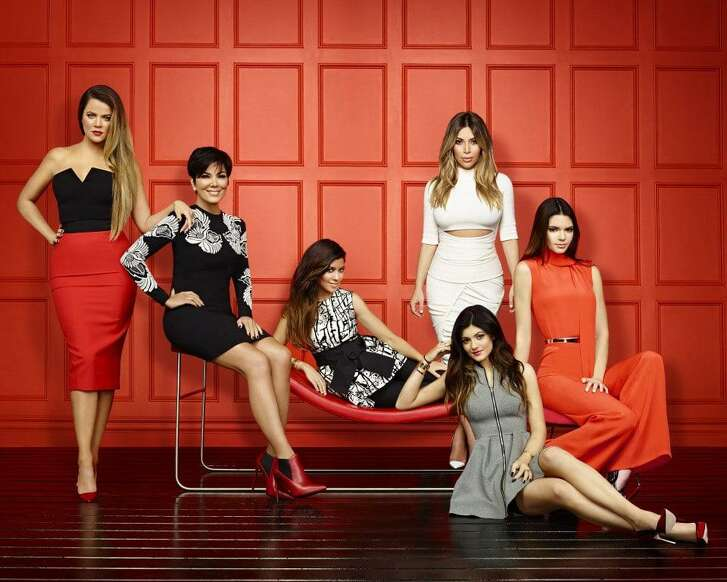 "From left, Khloe Kardashian, Kris Jenner, Kourtney Kardashian, Kim Kardashian, Kylie Jenner and Kendall Jenner. Kylie is supposedly a ""self-made"" billionaire. Yeah, right."