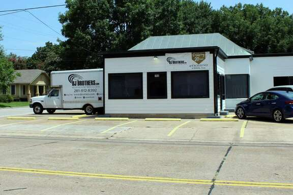 DJ Brothers, located on 703 E. Main St. in Humble, applied for the city's downtown improvement project in 2015 and got some exterior work done to the facility.