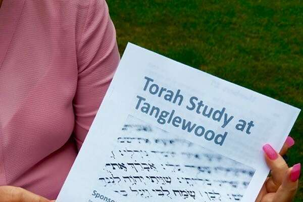 On Saturday, July 14, a group from Congregation Beth traveled to the Tanglewood Music Center for Shabbat Torah Study led by Cantor Jodi Schechtman. Following her presentation and discussion they stayed for a Boston Symphony Orchestra rehearsal as well as to nosh and visit with each other. The morning was sponsored by The Renaissance Group of the Congregation. (Submitted)