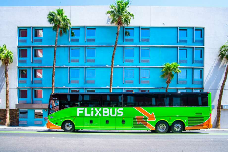 Interiors And Exteriors Of Flixbus Buses That Travel Between SF LA Several Other US