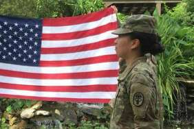Spc. Yea Ji Sea, a combat medic at Joint Base San Antonio-Fort Sam Houston, re-enlisted in the Army last December after serving for four years. A Korean national who has sought U.S. citizenship, she learned Thursday she was discharged.