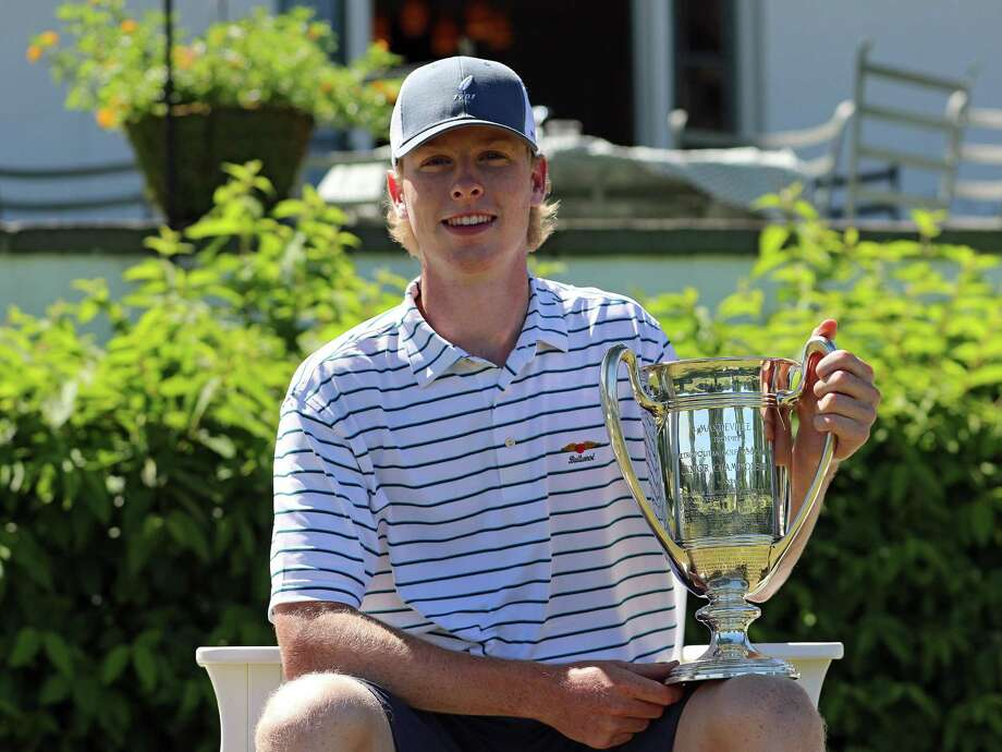 Fairfield's Jack Boatwright won the claim the 101st Met Junior Championship at Siwanoy Country Club in Bronxville, N.Y. on Thursday, July 19, 2018. Boatwright beat Will Celiberti of Ridgewood, N.J. 2-and-1. Photo: Metropolitian Golf Association / Contributed Photo / Greenwich Time Contributed