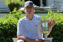 Fairfield's Jack Boatwright won the claim the 101st Met Junior Championship at Siwanoy Country Club in Bronxville, N.Y. on Thursday, July 19, 2018. Boatwright beat Will Celiberti of Ridgewood, N.J. 2-and-1.