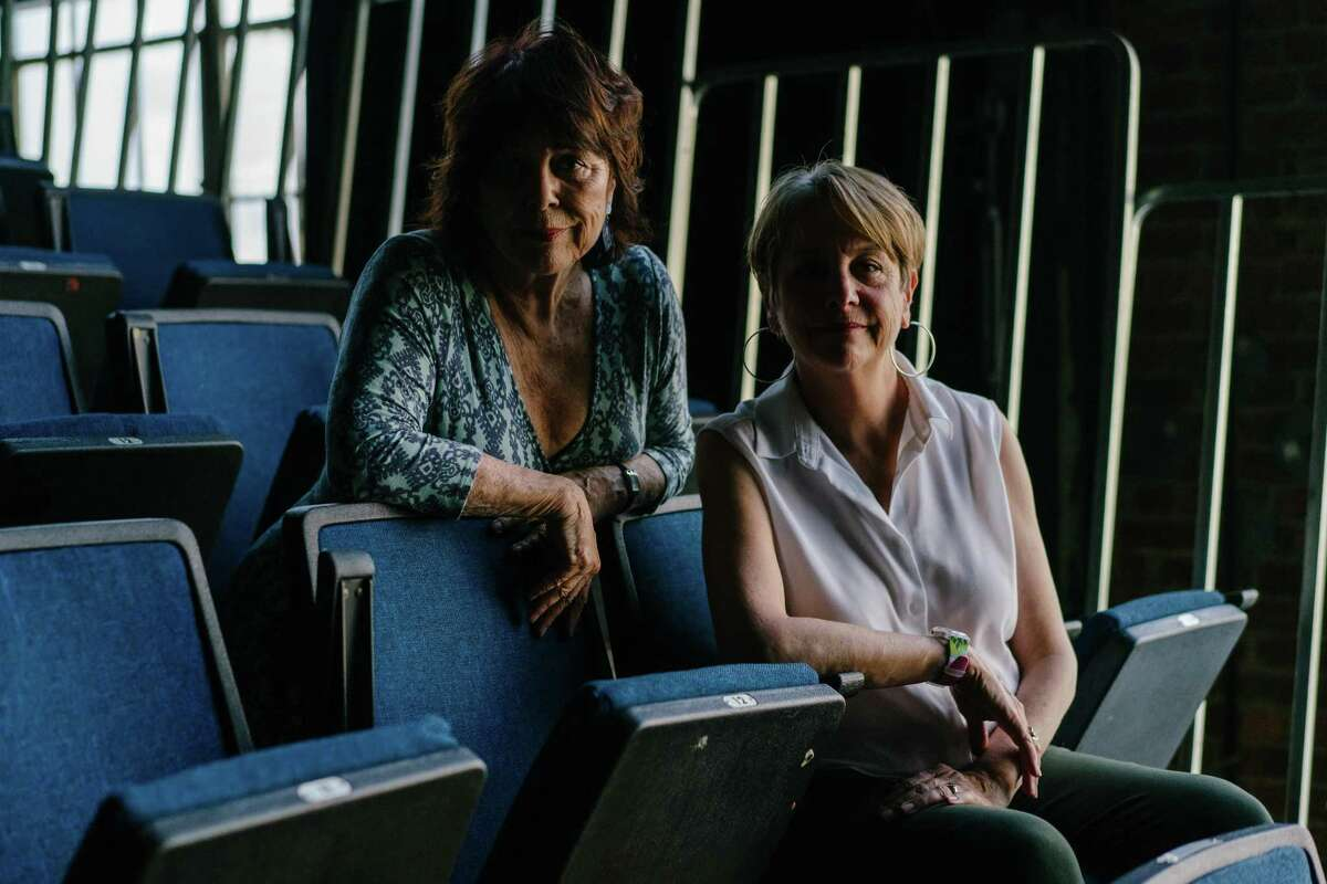 Artistic directors and founders of Word for Word Performing Arts Company, Susan Harloe and JoAnne Winter photographed at the Z Space in San Francisco, Calif., on Monday, June 25, 2018.