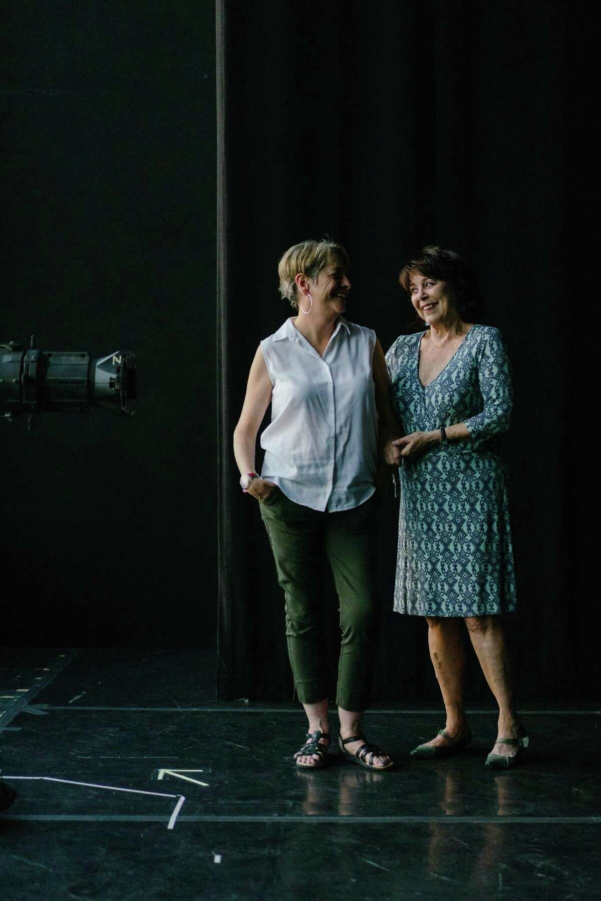Artistic directors and founders of Word for Word Performing Arts Company, JoAnne Winter and Susan Harloe photographed at the Z Space in San Francisco, Calif., on Monday, June 25, 2018.