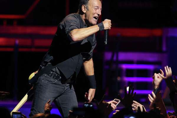 Bruce Springsteen and the E Street Band perform during their River Tour.