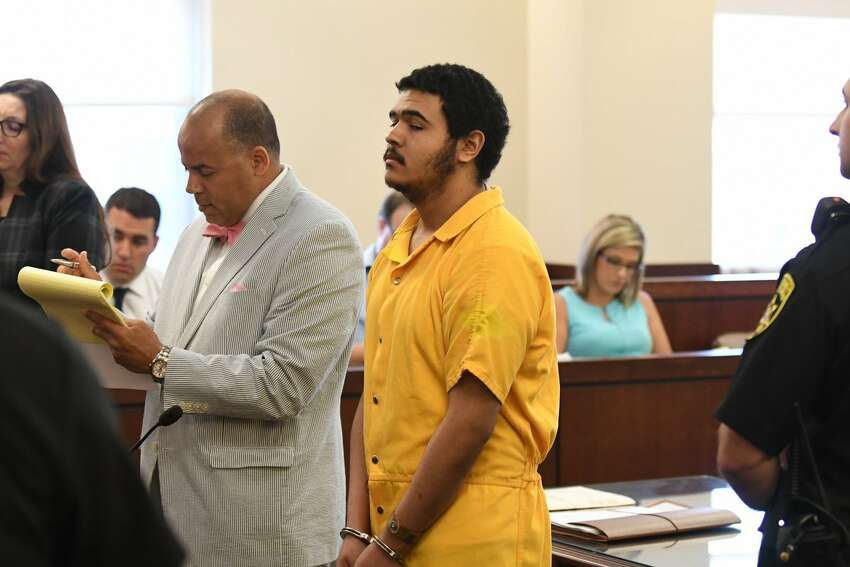 David Bridges was sentenced on Friday, July 20, 2018, for killing 1-year-old Luka Patrick. Acting State Supreme Court Judge Roger McDonough sentenced Bridges to 25 years in prison. (Will Waldron/Times Union)