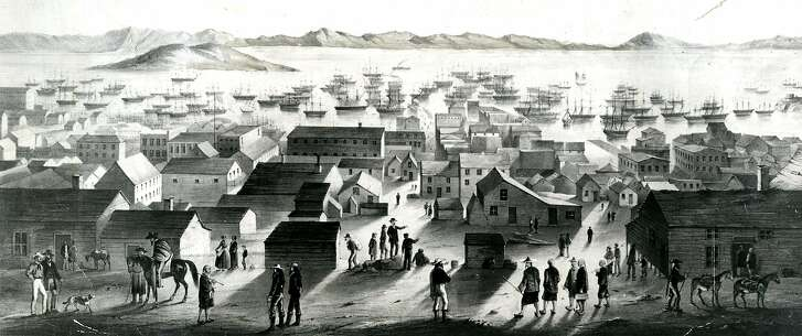 Gold Rush San Francisco.