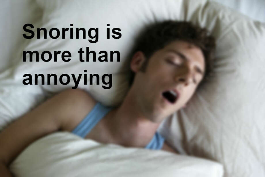 Call it sawing wood, rattling the shingles, making Zs, mowing hay, calling hogs or any other euphemism you choose; snoring is more than a mild annoyance. Besides ruining sleep and causing arguments for couples, snoring can be a sign of dangerous sleep apnea. Photo: Tim Kitchen/Getty Images