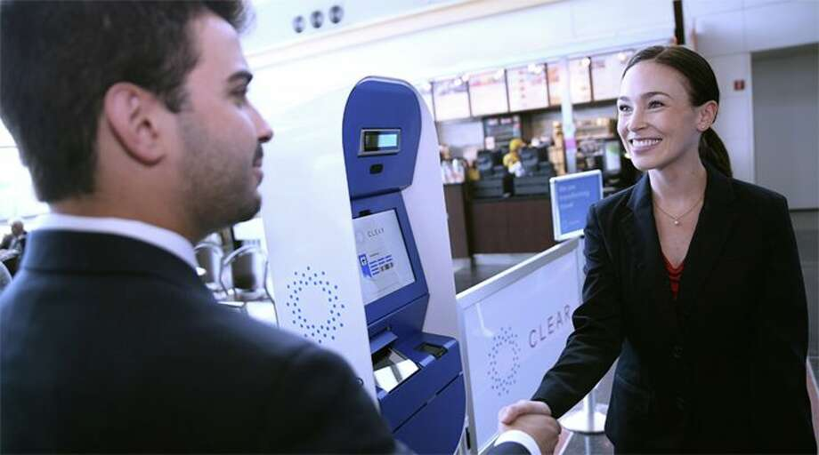 CLEAR members with biometric IDs can bypass security lines. (Image: CLEAR) Photo: CLEAR