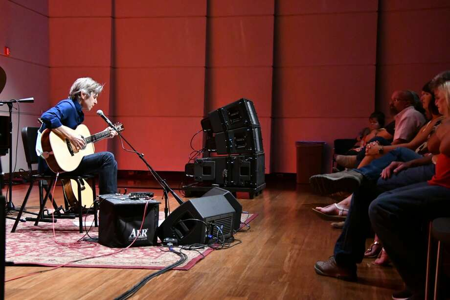 Guitarist Eric Johnson performed July 19  for his Evening of Acoustic and Piano show at the Wagner Noel Performing Arts Center. Photo: Jeff Schartz For Wagner Noel PAC