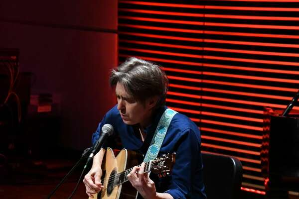 Guitarist Eric Johnson performed July 19 for his Evening of Acoustic and Piano show at the Rea-Greathouse Recital Hall.