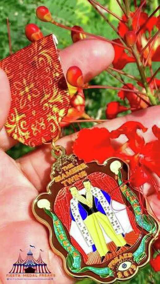 The Siamese Twins by Fiesta Medal Freaks Photo: Courtesy, Fiesta Medal Maniacs