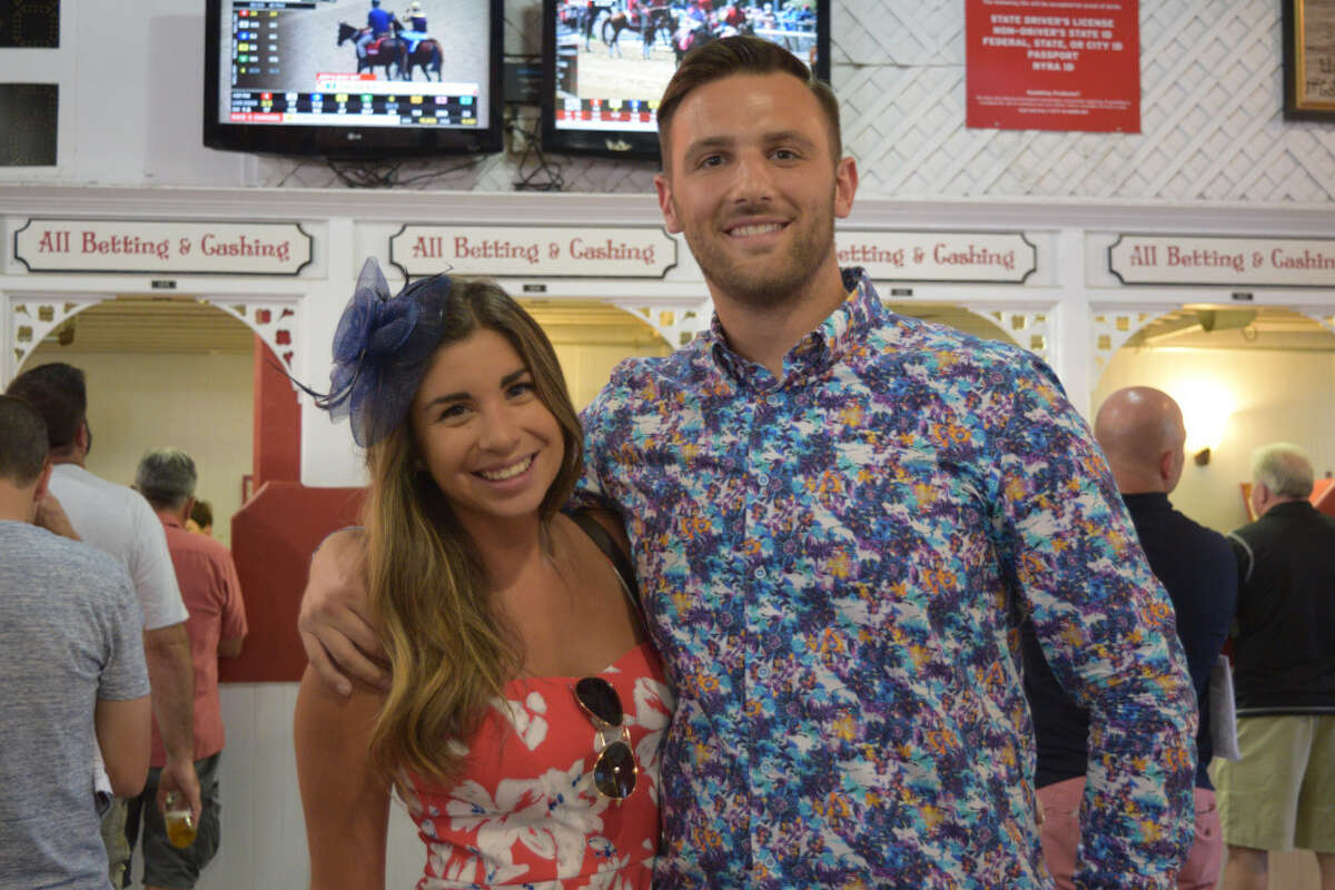 Were you Seen at The Stretch on Opening Day at Saratoga Race Course on Friday, July 20, 2018?
