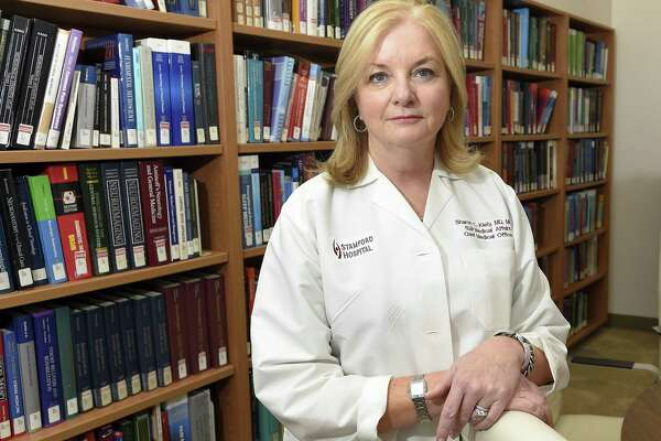 Dr. Sharon Kiely, Associate Dean for Columbia Medical School at Stamford Hospital is photograph on July 17, 2018 in Stamford, Connecticut.