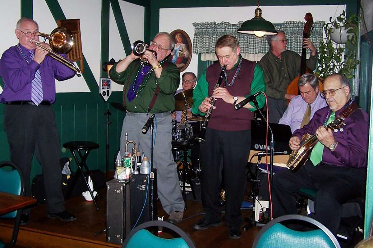 Skip Parsons' Riverboat Jazz Band.