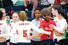 Clear Lake volleyball coach Chanda Eager hopes her team can return to the playoffs in talented District 24-6A.
