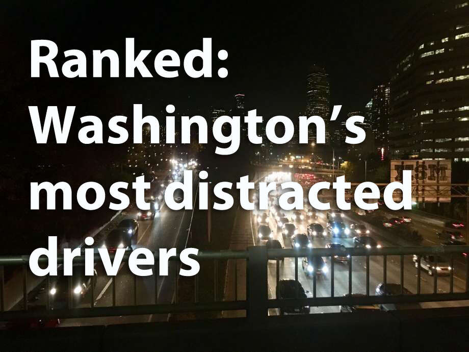 Where do distracted drivers do damage in Washington? The Seattle-based injury law firm Davis Law Group used state Department of Transportation data on crashes to rank the state's top 10 cities where distracted drivers strike, as well as the five cities with the lowest frequency of distracted driver-related crashes. Check out the results. Photo: SeattlePI File