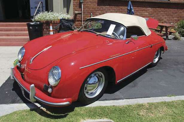 This 1956 Porsche Speedster was one of the main attractions for visitors at The Art of the Classic Ride show. (Heidi Van Horne photo)