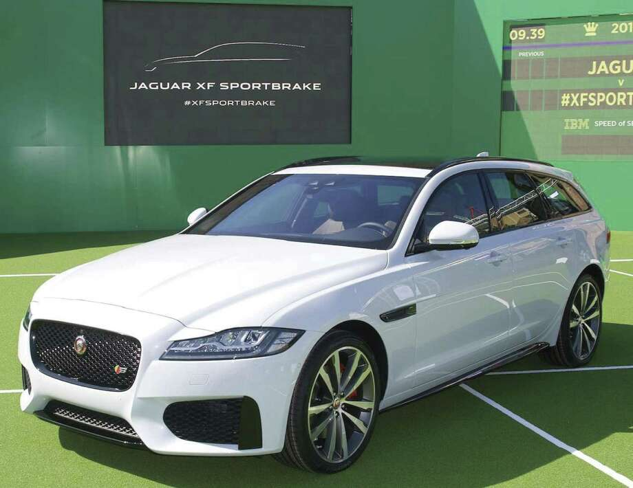 """The 2018 Jaguar XF Sportbrake is a supercharged 380-horsepower, all-wheel-drive wagon based on the popular XF sport-luxury sedan. It's available in just one trim level, """"S,"""" based on the same version of the XF sedan. (Jaguar photo)"""