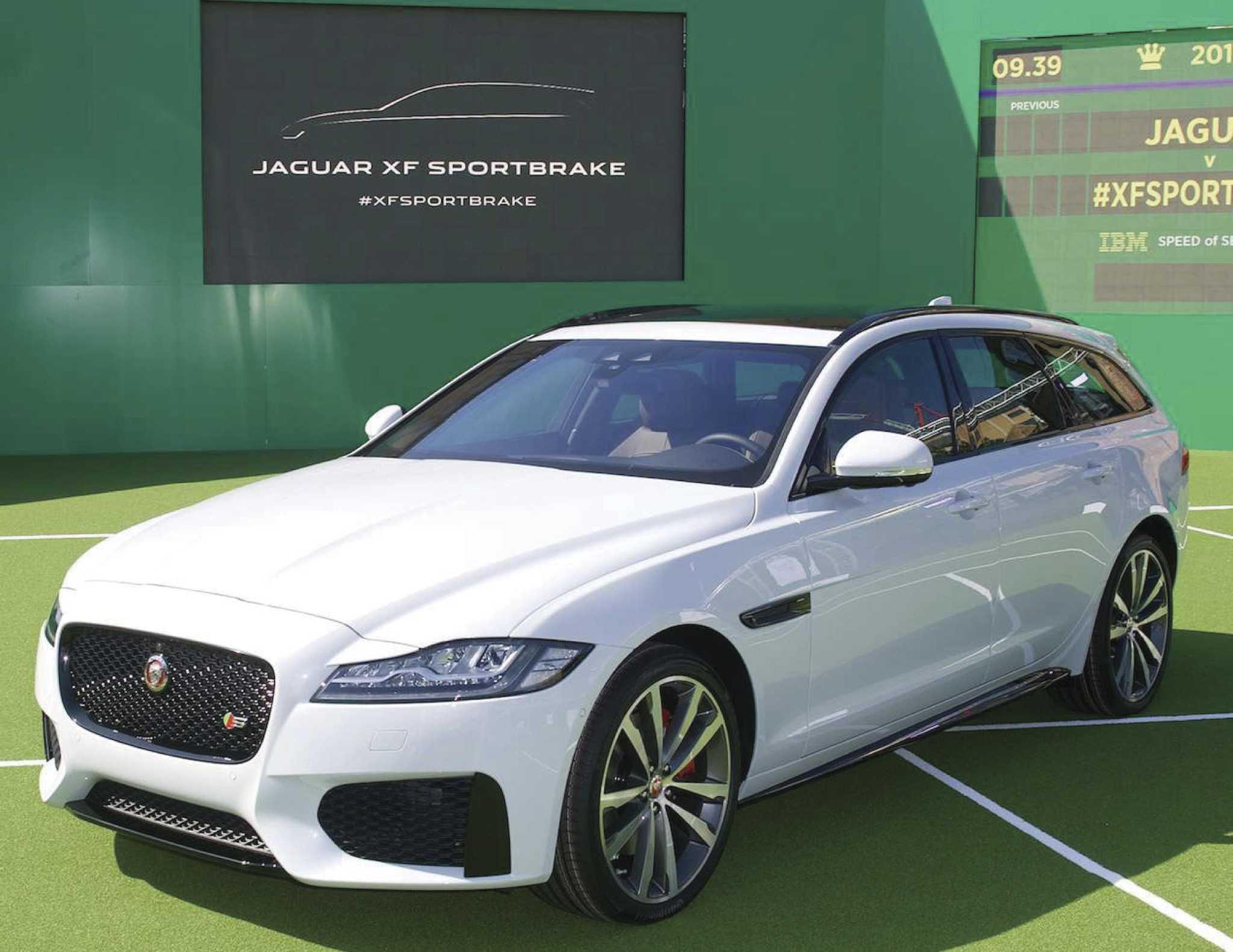 Jaguar brings its XF Sportbrake wagon to the US