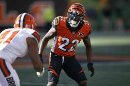 CINCINNATI, OH - NOVEMBER 26: William Jackson III #22 of the Cincinnati Bengals in action during a game against the Cleveland Browns at Paul Brown Stadium on November 26, 2017 in Cincinnati, Ohio. The Bengals won 30-16. (Photo by Joe Robbins/Getty Images)