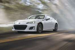 The BRZ engine has a quick-revving nature, with a 7,400 rpm redline. The engine delivers 205 hp at 7,000 rpm, while the 156 lb-ft of torque peak arrives at 6,400 rpm. (Output remains 200 hp and 151 lb-ft with automatic transmission). (Motor Matters photos)