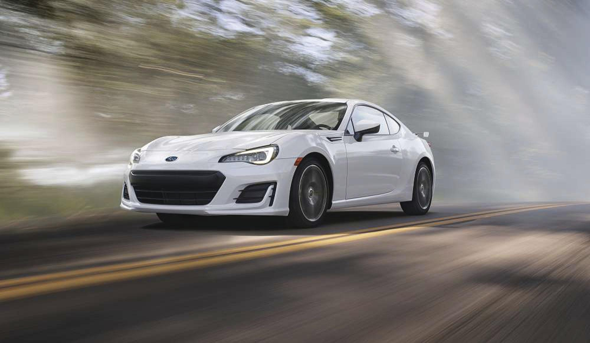 Subaru BRZ small sports coupe: Improved smiles-per-gallon
