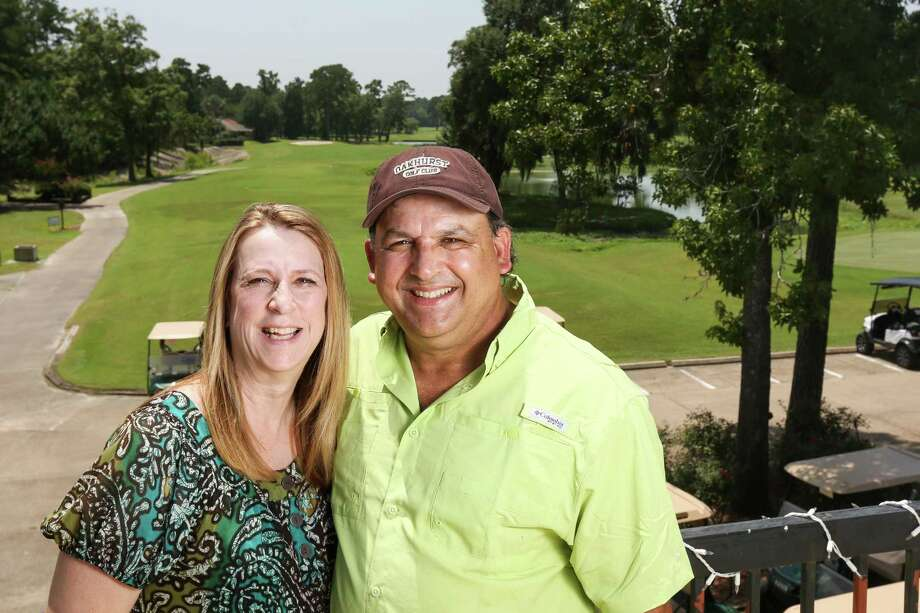 David Preisler, new owner of the River Plantation Country Club, poses for a portrait with his wife, Debbie, on Friday, July 20, 2018, at River Plantation Country Club. Photo: Michael Minasi, Staff Photographer / Houston Chronicle / © 2018 Houston Chronicle
