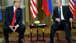 His Tuesday retraction notwithstanding, President Donald Trump embarrassed himself and his country by essentially siding with Russian President Vladimir Putin a joint press conference in Helsinki Monday.