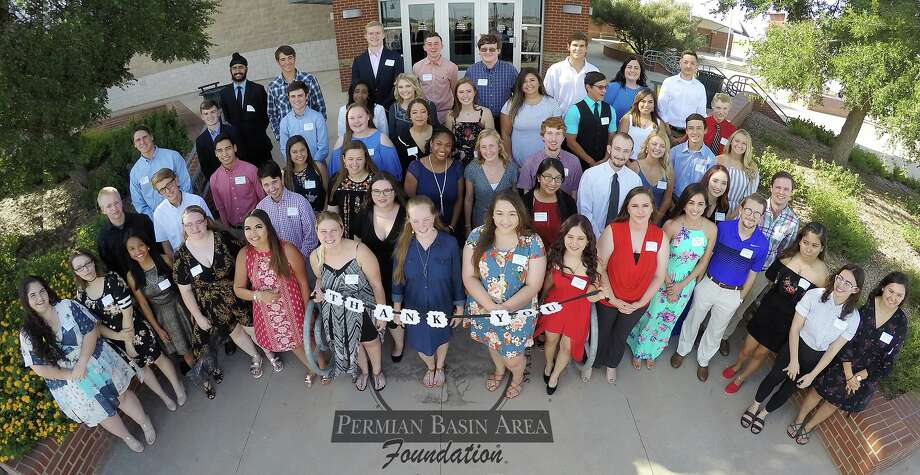 The Permian Basin Area Foundation presented more than $500,000 in scholarships at its annual dinner Thursday night at the Horseshoe. More photos from the event will be published in a future Education section. Photo: Courtesy Photo