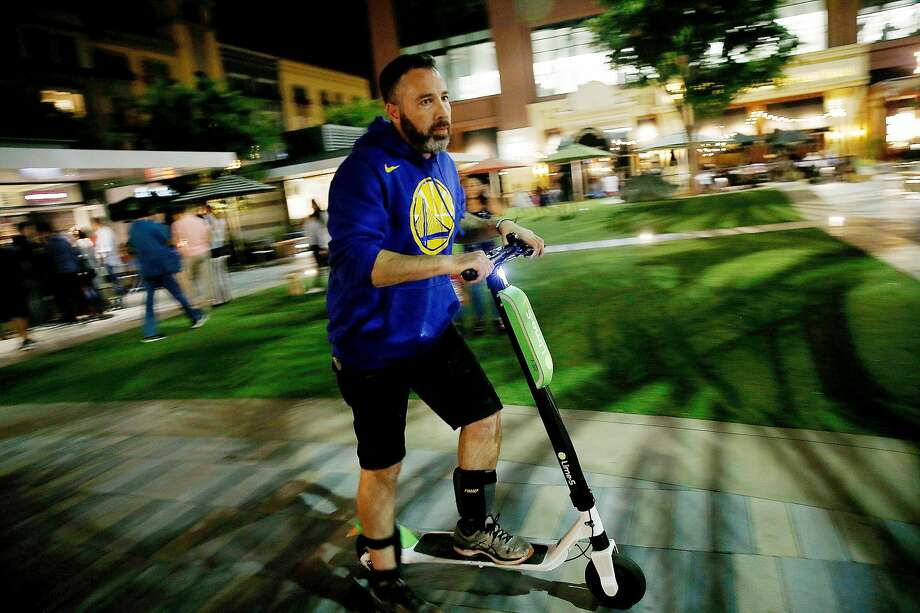Some Lime e-scooters have been catching fire, the company said in a statement. Photo: Josie Lepe, Special To The Chronicle