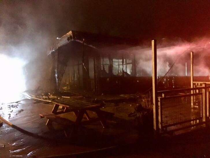 At 2:47 a.m. July 2, the San Francisco Fire department received a report that a fire had broken out near the entrance of the club. Crews responded to the scene and doused the clubhouse for at least an hour.