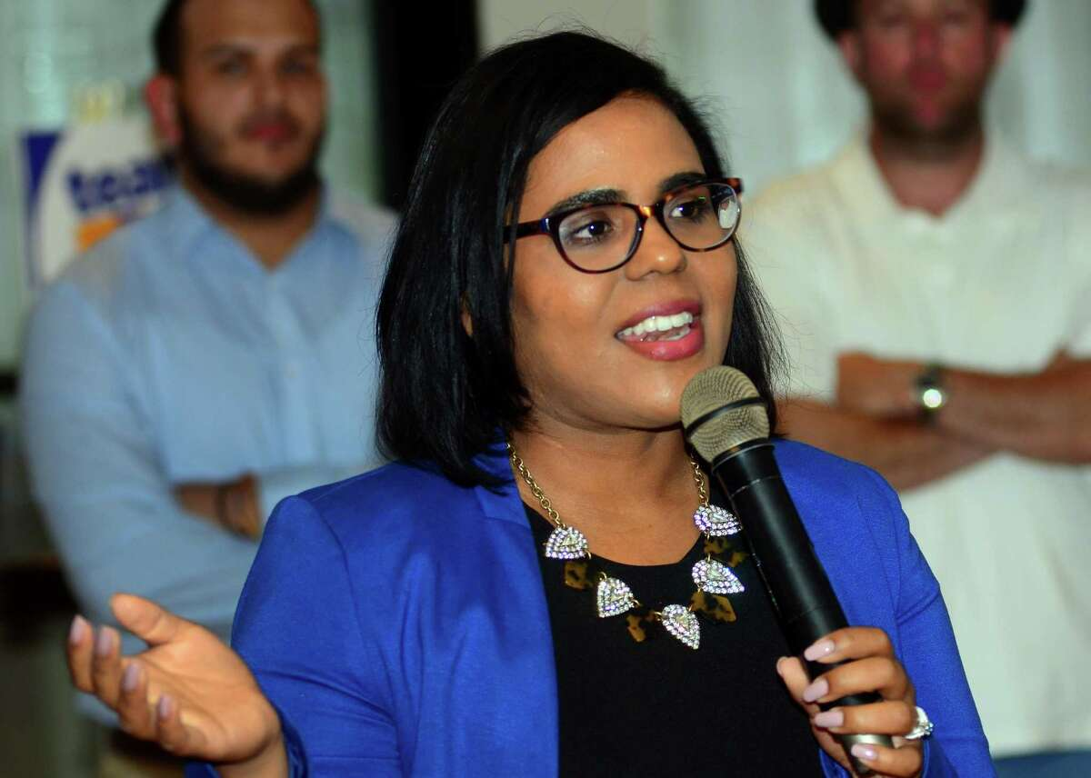 Democrat Eva Bermudez-Zimmerman is vying for her party's nomination for lieutenant governor in the Aug. 14 primary.