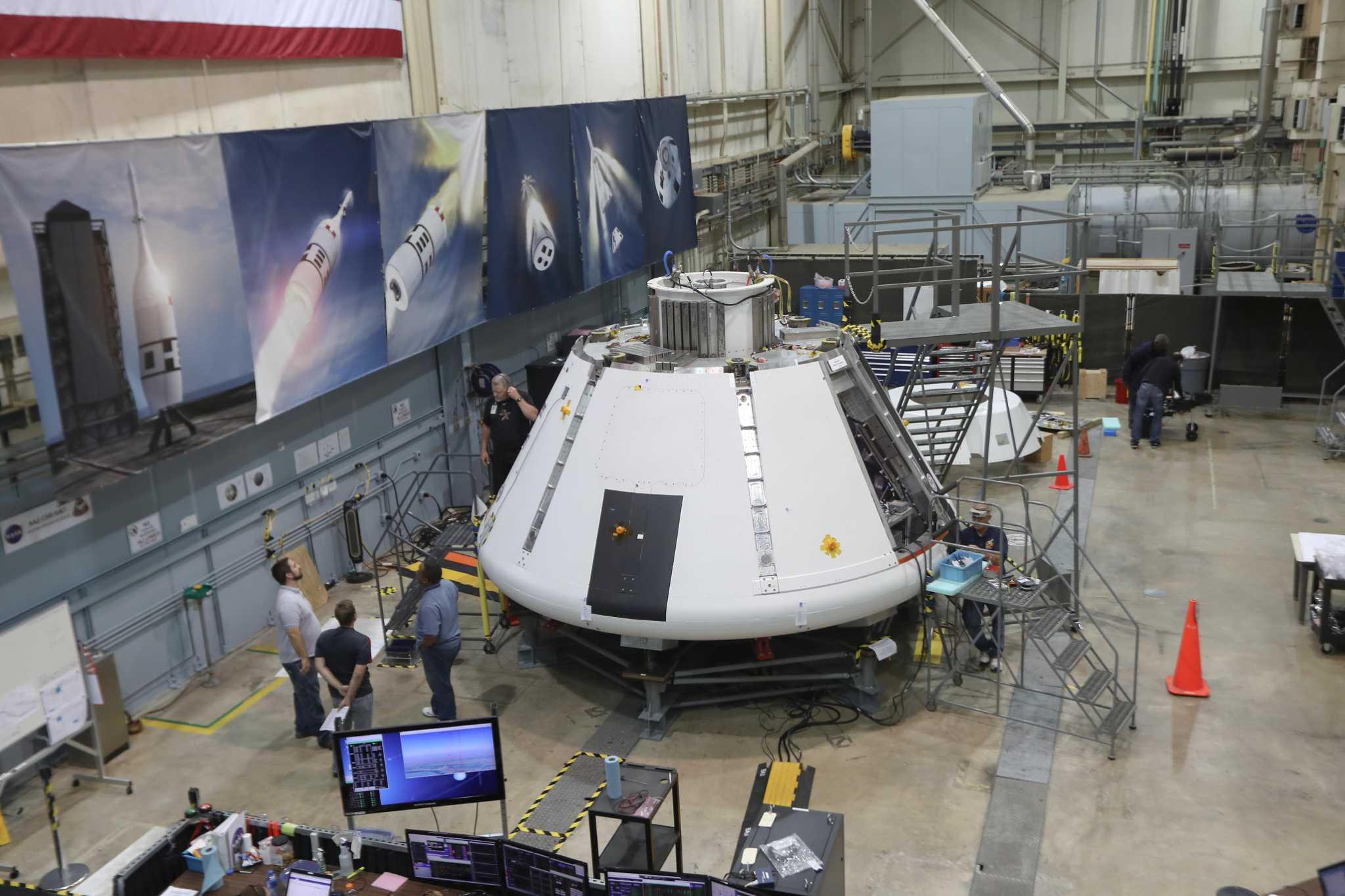 La sonda espacial Orion de la NASA está lista para volar a la Luna.