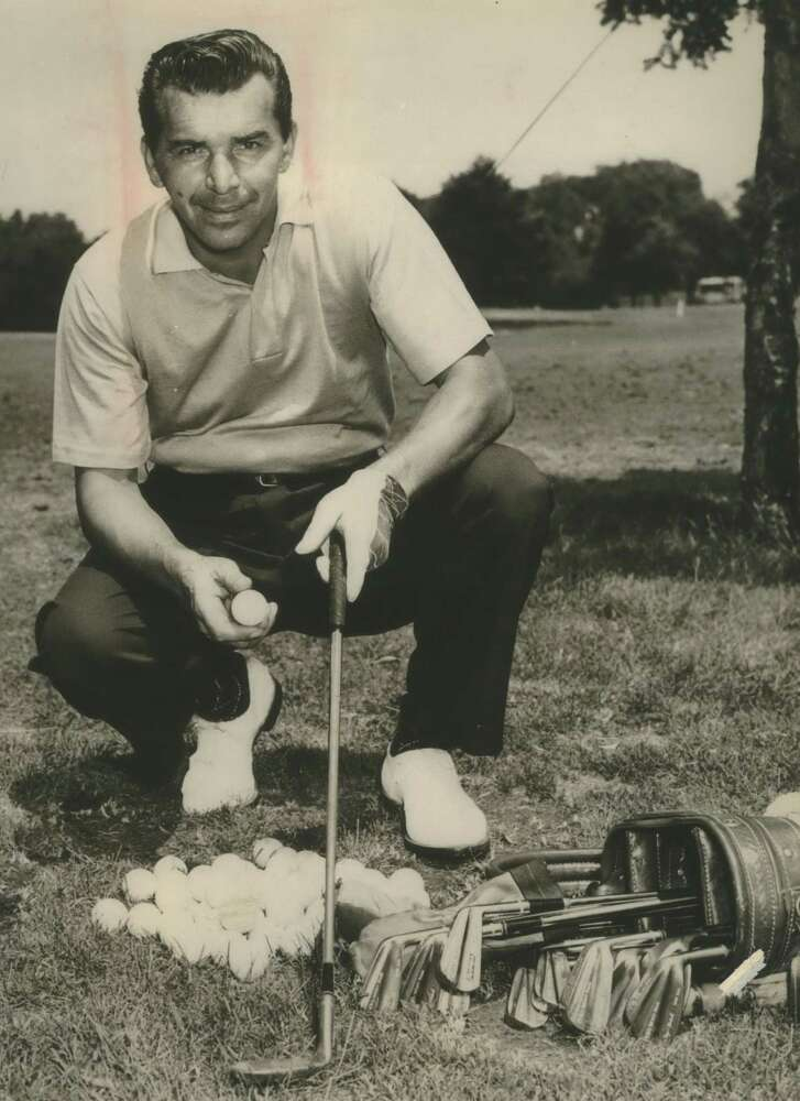 Golfer Julius Boros, Member of the Advisory Staff Wilson Sporting Goods Company